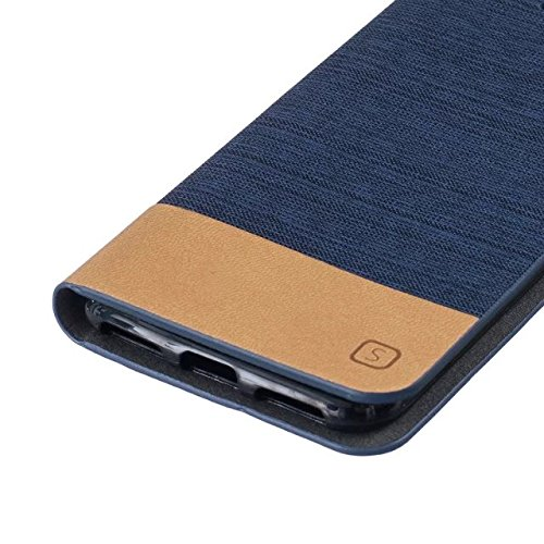 Mixed Canvas Canvas Collection Case Premium PU Leather Case Portefeuille Stand Flip Stand Coque de protection pour IPhone 7 ( Color : 3 , Size : IPhone 7 ) 1