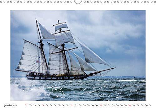 La beauté des voiliers (Calendrier mural 2020 DIN A3 horizontal): Une collection d'images illustrant la beauté des voiliers (Calendrier mensuel, 14 Pages ) (Calvendo Sportif)