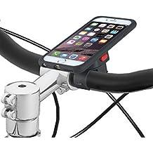 Tigra Sport supporto-Cover Case Bike mount Kit con Rain guard protezione acqua - Colore nero/trasparente