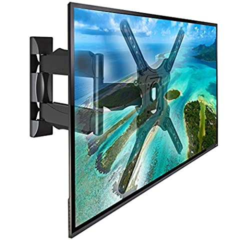 NB DF400 - Support mural universel orientable robuste pour TV LCD LED 81-132 cm (32