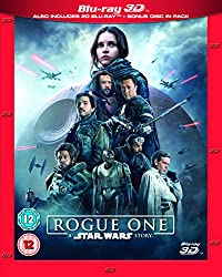 Rogue One: A Star Wars Story [Limited Edition Artwork Sleeve] [Blu-ray 3D] [2016] [2017]
