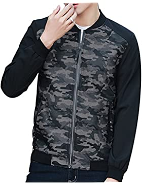 Zhhlinyuan alta calidad Mens Camouflage Windproof Long Sleeve Outdoor Jacket Hooded Outwear