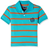 #9: nauti nati Baby Boys' Starred Regular Fit Polo (NSS18-710A-1Y_Blue-Stripe)