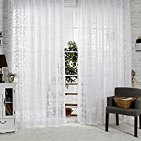 R.LANG (2 pezzi), trasparente porta abiti, 1 paio, motivo Jacquard, colore: bianco, 59