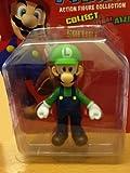 "5"" Luigi Super Mario Brothers Cart Nintendo Wii Figures"