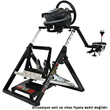 Next Level Racing Foldable Racing Wheel and Pedal Stand for PC, Xbox and Playstation (NLR-S002)