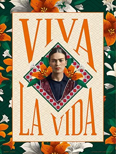 Grupo Erik Print Frida Kahlo Viva la Vida