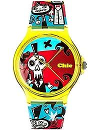Teenie-Weenie Chic Watches UC008 - Reloj para mujeres, correa de plástico multicolor