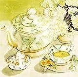 English Breakfast ~ Einzigartige und schöne Handbemalt Keramik Fliesen Plaque Untersetzer 15,2x 15,2cm Einzigartige Geschenkidee
