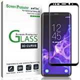 Introducing amFilm Tempered Glass Screen Protectors for your Galaxy S9amFilm Premium Glass Screen Protectors are made from superior quality tempered glass, and specifically designed to fit your Samsung Galaxy S9. These Glass Protectors provide case f...