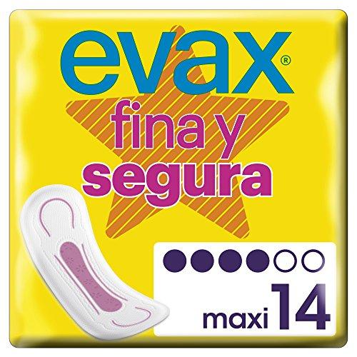 Evax Fina y Segura Maxi Compresas 14u