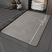 سوبر ماصة حمام سجاجيد ، ZUOMIDIE قابل للغسل غرفة المعيشة سجاد الحمام ، سريعة الجفاف الأزرق حمام البساط دش الحص