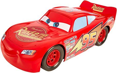 Cars 3 - Mega Rayo McQueen, 50 cm (Mattel FBN52)