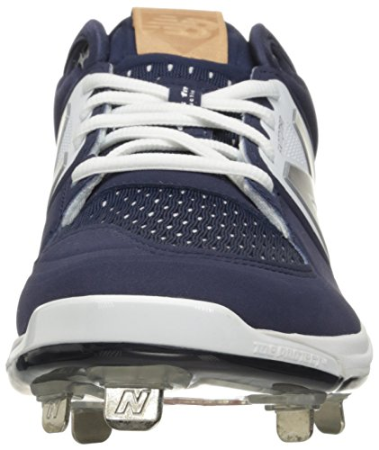New Balance Men's L3000V3 Baseball Shoe, Royal/White, 10 2E US Navy/White
