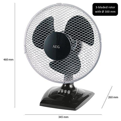 AEG VL 5529 Tisch-/ Wand-Ventilator - 6