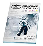 Ultimate Guard Comic Sacs Taille (Argent, Lot de 100)