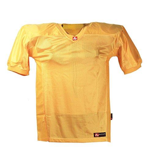 FJ-2 American Football Trikot, Match, Gr. 4XL, gelb