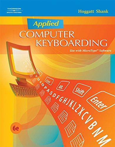 Applied Computer Keyboarding (Keyboarding Production)