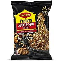 MAGGI Fusian Yakisoba Noodles Chili - Fideos Orientales - Bolsa 120g (2 raciones)