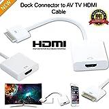 mycs New 1080P Dock Connector zu HDMI TV Adapter Kabel für iPhone 4S & iPad 23