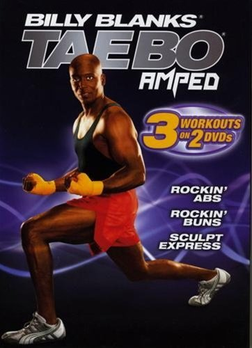 Tae Bo Amped Rockin Abs, Buns And Sculpt Express 2 DVDs set Region 0 Worldwide by Billy Blanks (Tae Bo-dvd-set)