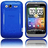 - Moderne Tech Blue Gel Soft Skin Case for HTC Wildfire S