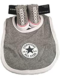 5c019b73211d2 Converse Grey Baby Bib and Sock Set 0 6 Months