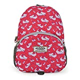 HUGGER Totty Tripper backpack daypack travel bag rusksack for kids children's toddler with safety harness / rein leash (pink cats)