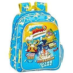Mochila Escolar Infantil de SuperZings Oficial, 270x100x330mm