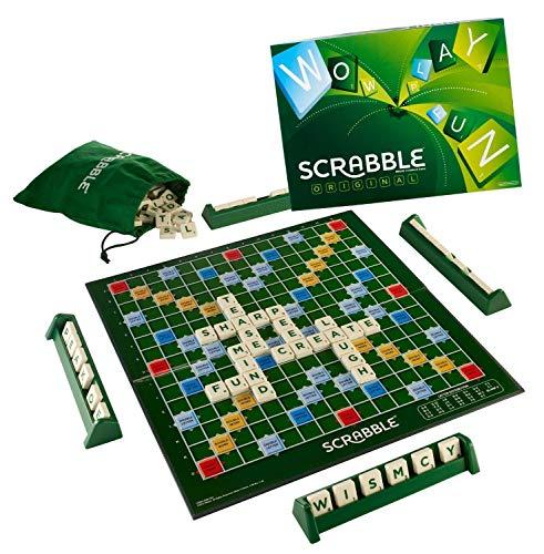 Techhark® Crossword Scrabble Professional Board Game, Multi Color