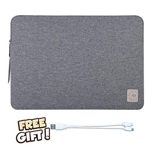 Dell-seriennummer (Comfyable Laptop-Hülle für 15 Zoll Neues MacBook Pro 2016 & 2017- Wasserdichte Mac Cover Schutzhuelle-Dunkelgrau/Comfyable 15 inch laptop sleeve parent, Dark grey)