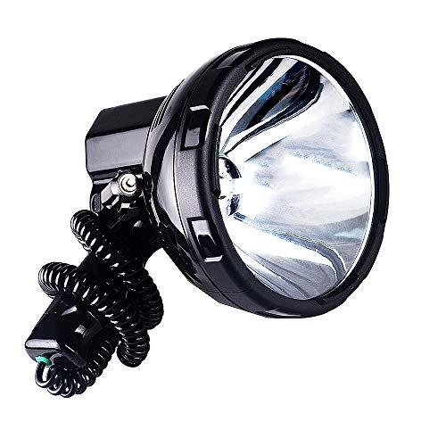 Wzlight Autoscheinwerfer Hell Protable HID Scheinwerfer 220 Watt Xenon Suche Licht Jagd 12 V Suchscheinwerfer 35 watt 55 watt 65 watt 75 watt 100 watt 160 watt Scheinwerfer (Größe : 65W)