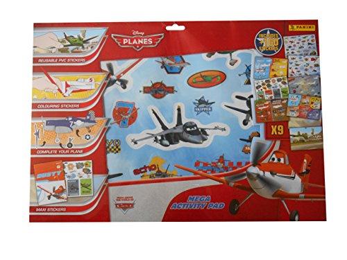 Panini - Juego de Pegatinas Aviones Disney Aviones (700038-40-0713)