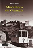 Miscelanea de Granada (4ª ed.) (Lv (comares))