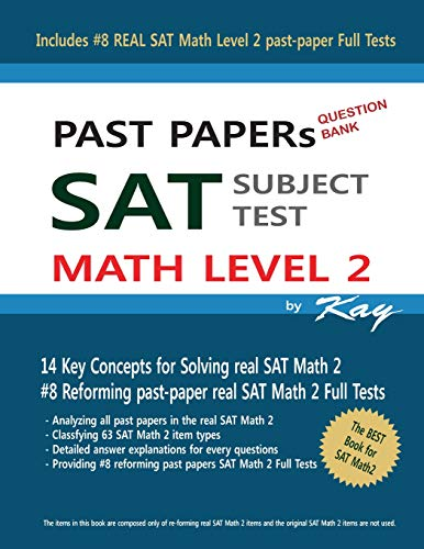 PAST PAPERs QUESTION BANK SAT SUBJECT TEST MATH LEVEL 2: Past Papers SAT Math Level 2