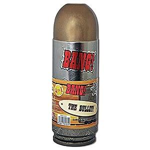 ABACUSSPIELE 69161 Bang! - Juego de cartas en caja de metal con forma de balas (contenido en alemán)