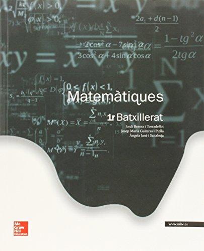 Matemàtiques batxillerat 1 - edició 2015