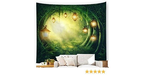 200x180CM Poliestere arazzo hippie stampa mandala indiano arazzo decorativo da appendere alla parete arte arazzo spiaggia lenzuolo lenzuolo tovaglia da spiaggia verde Da appendere alla parete