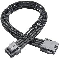 Akasa Flexa P8 - Cable para fuente de alimentación, negro