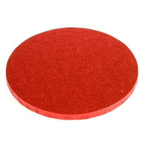 30,5 cm rond Rouge pour gâteau