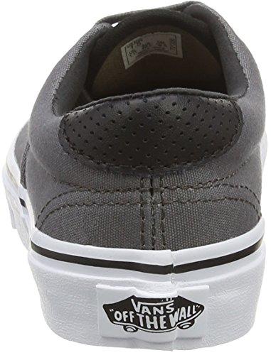 Vans Unisex-Kinder Era 59 Low-Top Grau (C&P pewter/black)