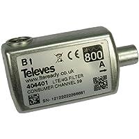 Televes 404401–Filtro LTE HR Cei 47. 782MHz C21–59 - Trova i prezzi più bassi su tvhomecinemaprezzi.eu