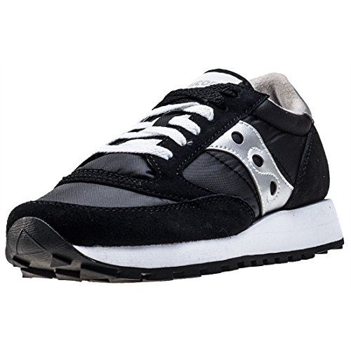 SAUCONY ORIGINALS  Saucony Jazz Original Women, Sneakers basses femme noir & argento