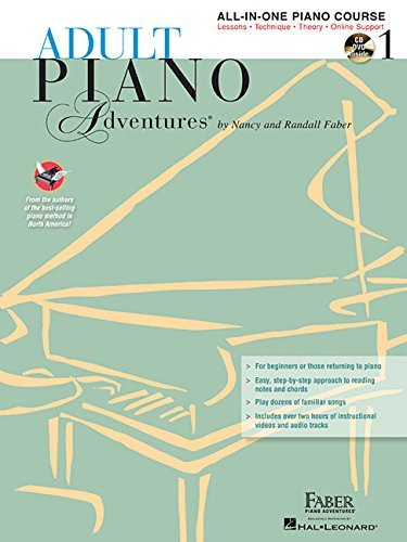 Adult Piano Adventures All-in-One Lesson Book 1 (Faber Piano Adventures) with 2 CDs (2002-01-01)