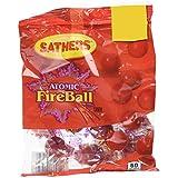 Farley's & Sathers Bonbons Atomic Fireball Sachet 61 g - Lot de 4