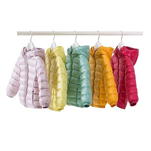 marc janie Baby Toddler Boys Girls' Hoodie Packable Lightweight Down Puffer Jacket