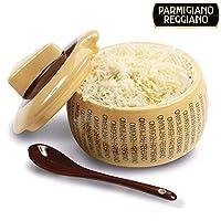 Servez vos hôtes parmesan comme au restaurant.La boîte conçues avec soin, parmesan ne laisse à chaque repas certainement l'impression lors de vos hôtes.La boîte se compose de céramique et symbolise une congrès fromage originale. La cuillère se visse...