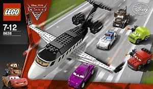 LEGO Cars - 8638 - Jeu de Construction - L'Évasion du Jet Espion