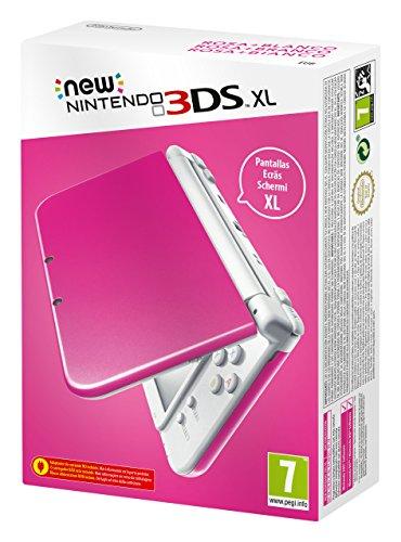 Nintendo New 3DS XL pink / weiß EU