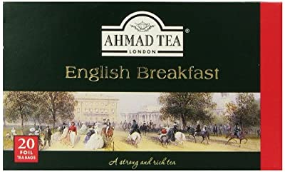 Thé Noir English Breakfast - Ahmad Tea London - Boite de 20 sachets